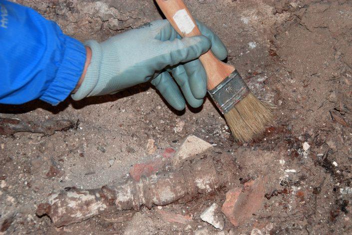 trabajos en excavaciones