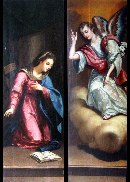 Armario de la Anunciación. Catedral de Murcia