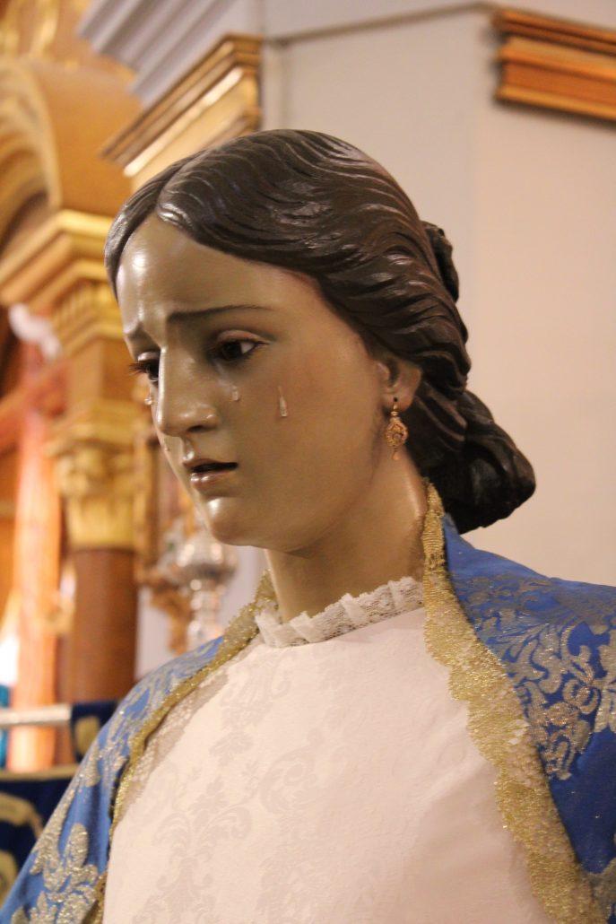 Estado final. Santa Mujer Verónica. Hellín. Febrero 2020. Pablo Nieto Vidal. El Parteluz